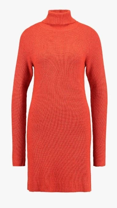 Viril Knit Rollneck Dress