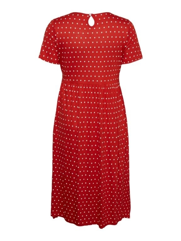 Lay SS Midi Dress