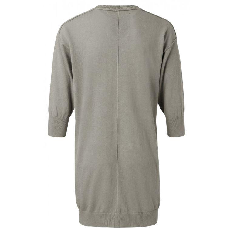 Linen cotton blend losse fit cardigan