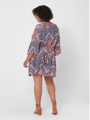 carafrican 4/5 knee kimono