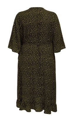 Carluxivy 3/4 wrap calf dress