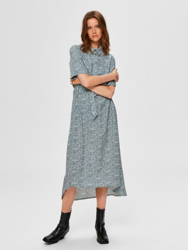 Bella - Damina 2/4 Ankle Dress