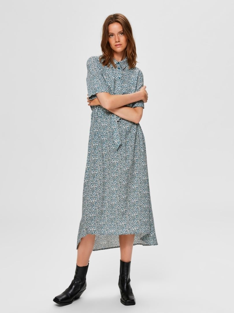 Bella - Damina 2/4 Ankle Dress