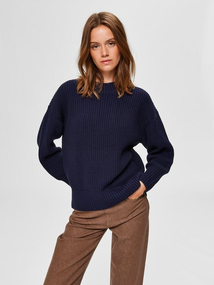 Bailey Ls Knit Slit