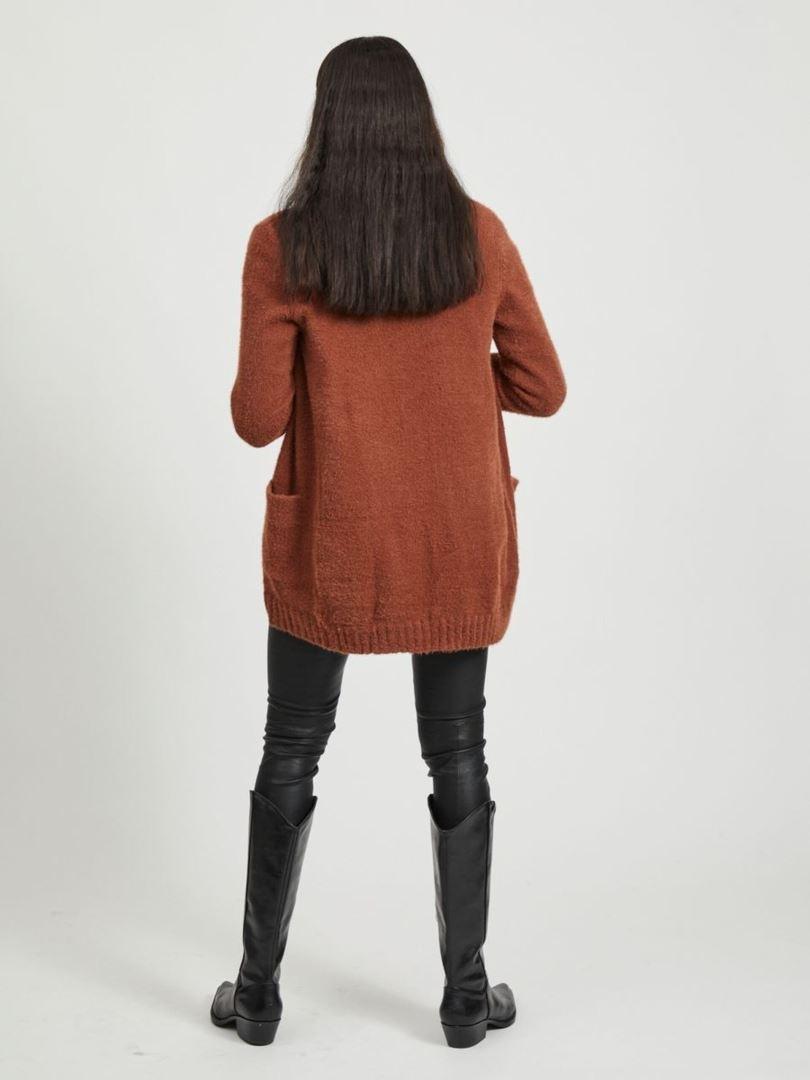 Vifeami Open L/S Knit Cardigan