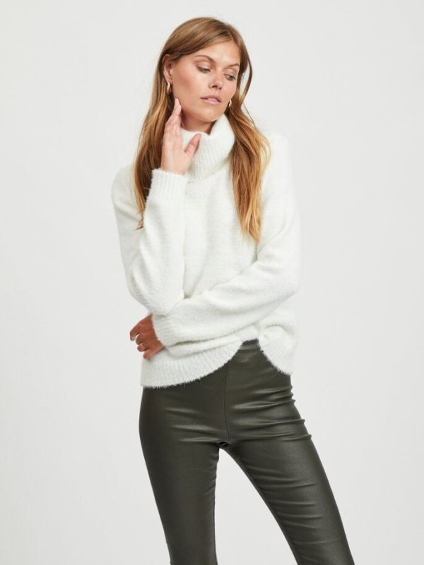 Vifeami Rollneck L/S Knit Top