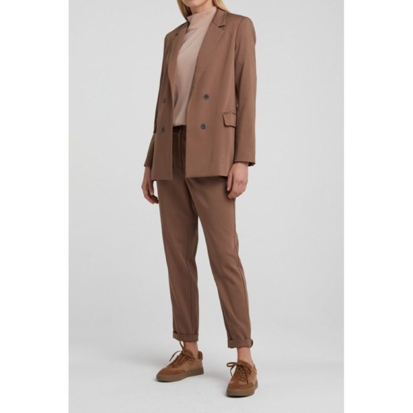 Strech Blazer with double breasted look