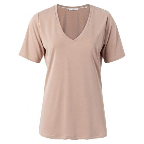 Modal V-neck t shirt