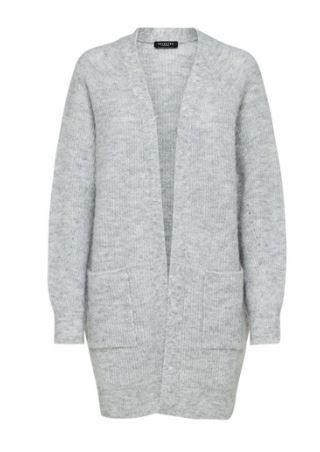 Lia LS knit Long Cardigan