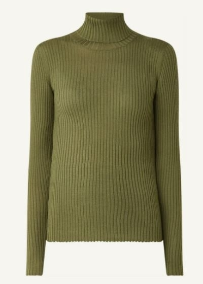 Costa LS Knit Rib Rollneck