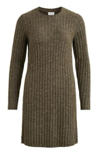 Nikki Knit O neck dress