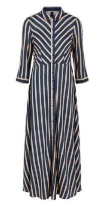 Yassavanna Stripe Long Shirt Dress