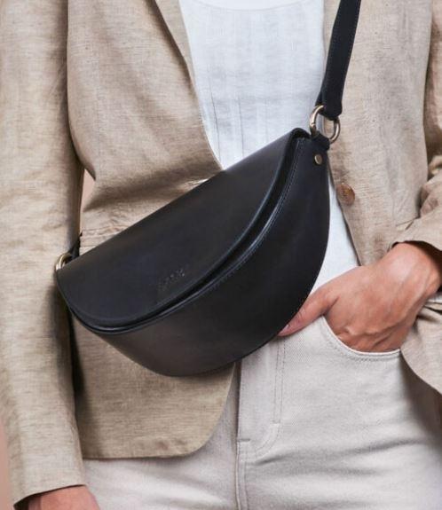Laura Black Classic Leather