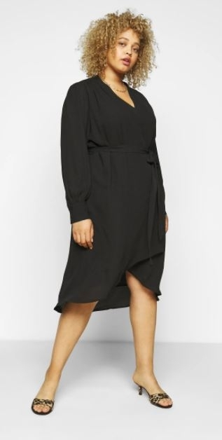 lava wrap dress curve