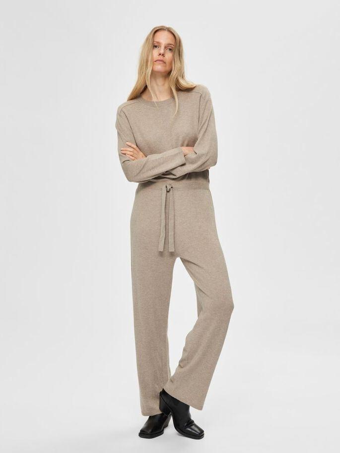 Inka Cashmere LS knit Jumpsuit