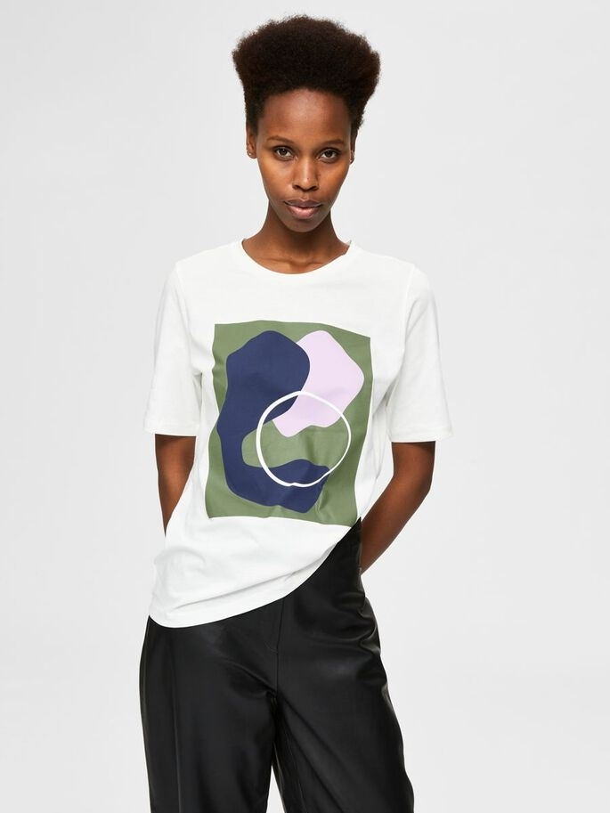 Sonja -Abstract Tee