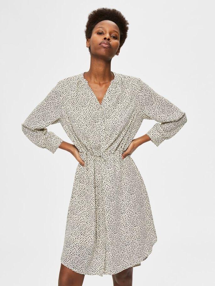 Damina 7/8 AOP Dress