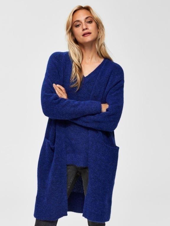 Lanna LS knit cardigan NOOS