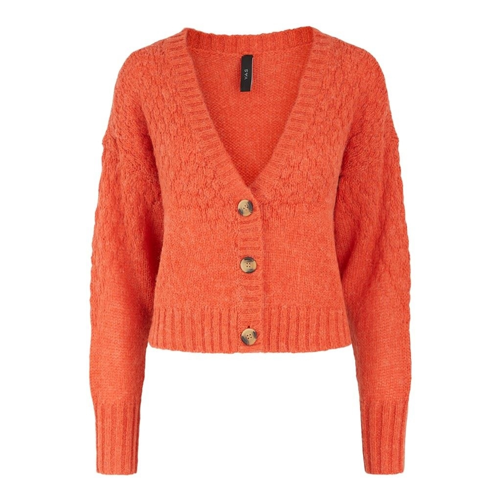 Yasorangina LS Cropped Knit Cardigan