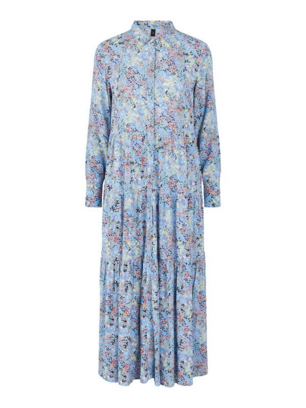 Santos LS Long Shirt Dress