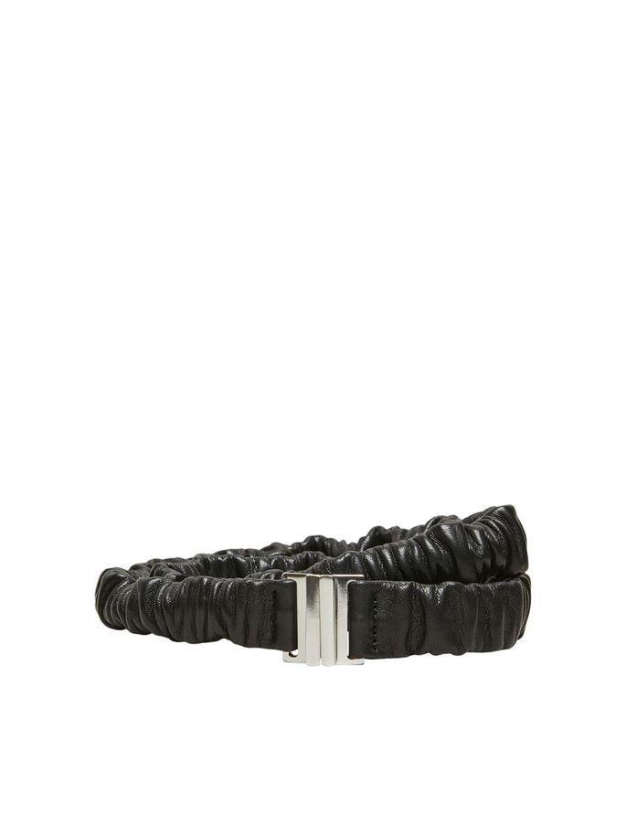 Kelly leather belt