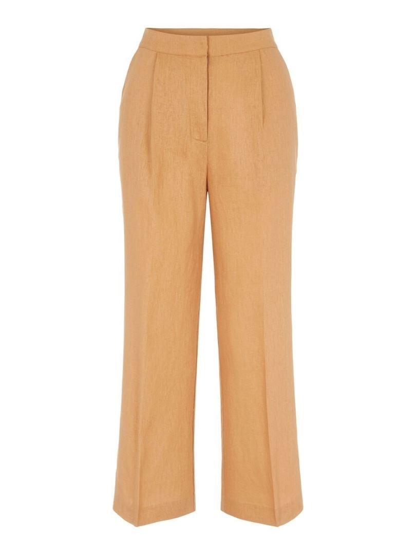 Yasfana HW Cropped Wide Pant