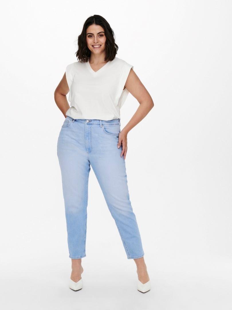 Careneda Life Mom Baby Blue Jeans