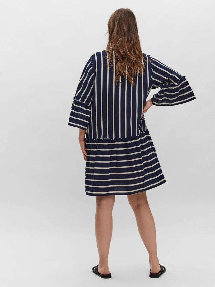 Afua 3/4 above knee dress