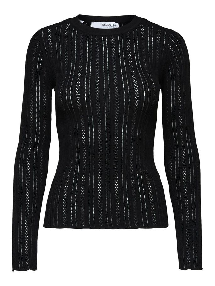 Donnay LS Knit o-neck