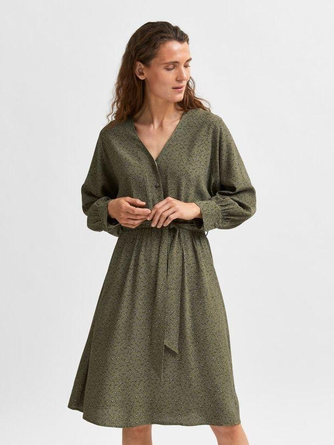 Vienna 7/8 AOP Short Dress
