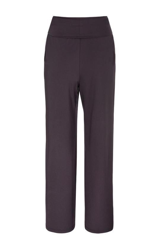 Jersey Wide Leg Trousers in Lyocell