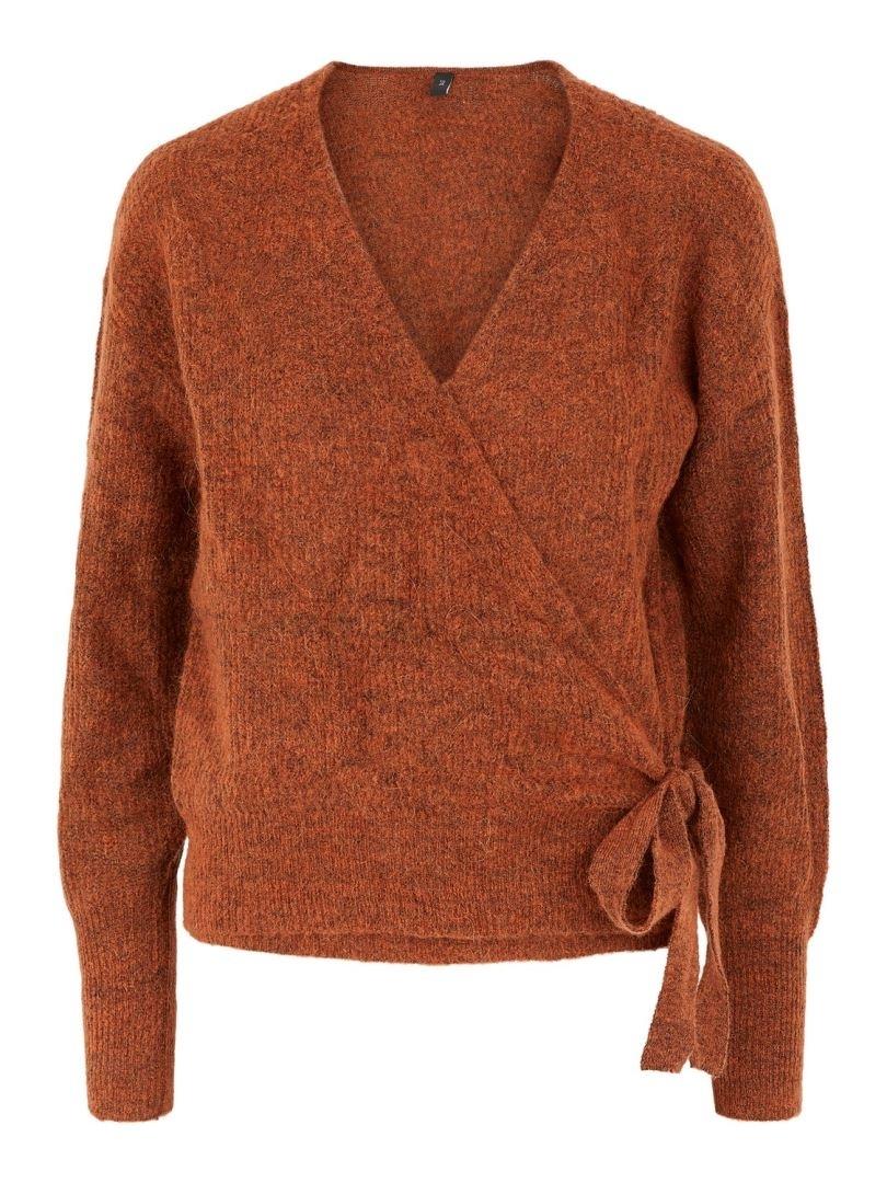 Unico LS Wrap Knit Pullover