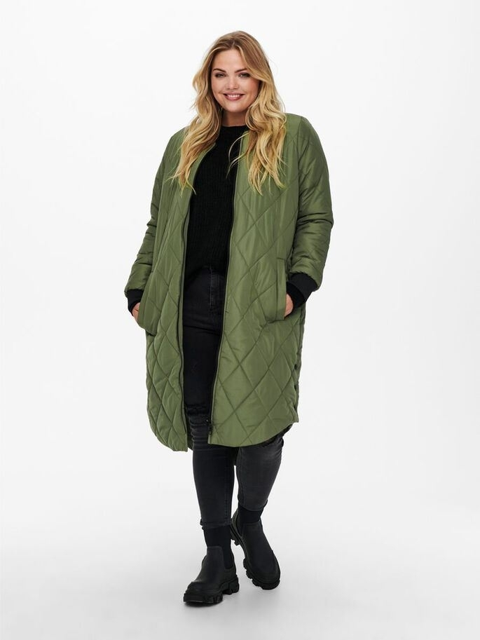 Carrot New LS Long Quilted