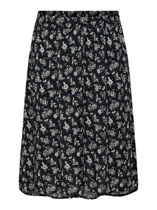 Flowly Calf Skirt High