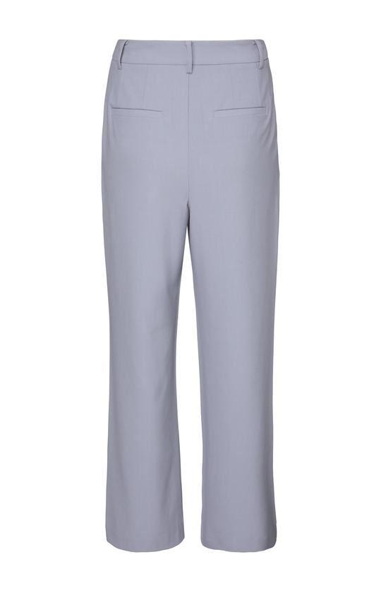High waist wide leg trousers in a viscose blend